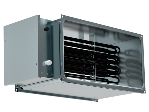 Нагреватель электрический для прямоугольных каналов EHR 500*250-12