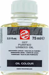 Связующее Масло льняное очищенное №027, флакон стекло 75мл