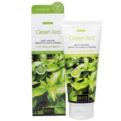 Пенка для умывания Jigott Natural Green Tea Foam Cleansing с экстрактом зеленого чая 180 мл