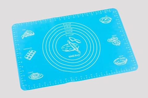 Коврик силиконовый с разметкой, 30х40 см (цвет микс)