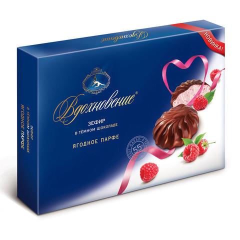 Зефир Вдохновение ягодное парфе в темном шоколаде, 245г