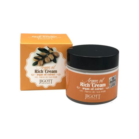 Крем для лица с аргановым маслом Jigott Argan Oil Rich Cream