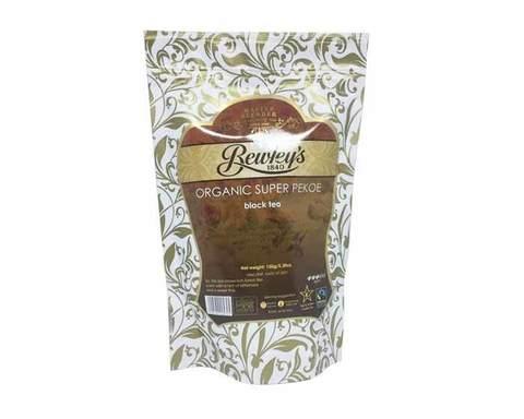 Чай черный листовой Bewley's organic super pekoe, 150 г