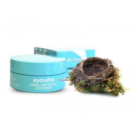 AYOUME Патчи для глаз подтягивающие с экстрактом ласточкиного гнезда SWALLOW'S NEST EYE PATCH 1,4гр*60 шт