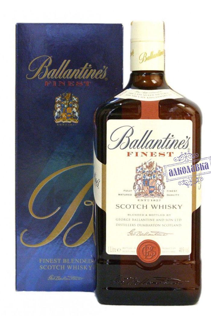 Баллантайнс. Подарочная упаковка. Шотландский виски, 0,7 л.