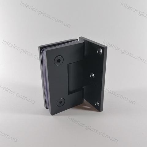 Петля душевая к стене HDL-305 BLK чёрная матовая