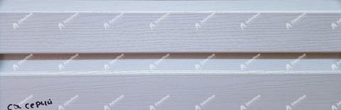 Виниловый сайдинг Альта Профиль светло-серый 3660х230 мм