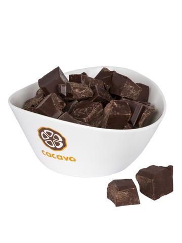 Тёмный шоколад 70 % какао (Тринидад), внешний вид