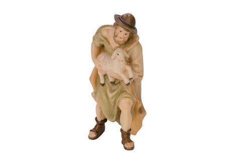 Пастух с овечкой