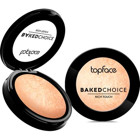 Topface Хайлайтер Baked Choice Rich Touch Highlighter тон 102-PT702 (6г)