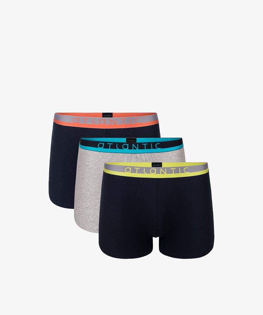 Трусы мужские шорты 3MH-001 хлопок. Набор из 3 шт.