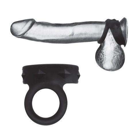 Черное двойное силиконовое кольцо С B GEAR