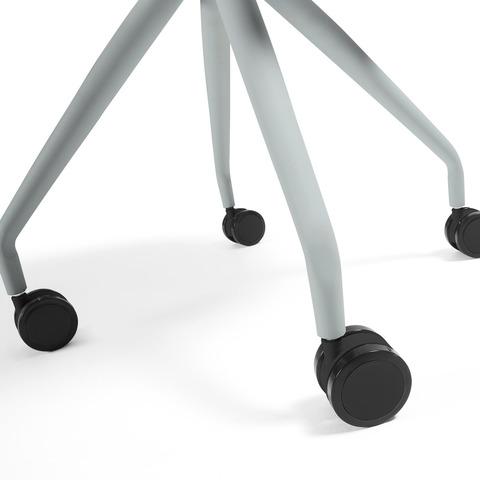 Cтул Lars серый на колесиках