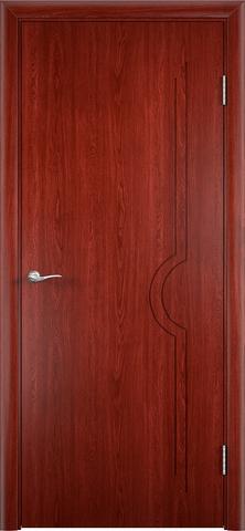Дверь Модерн (красное дерево, глухая шпонированная), фабрика Верда