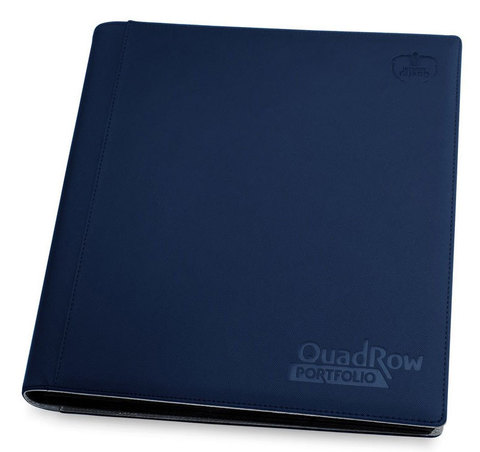 12-Pocket QuadRow Portfolio Dark Blue