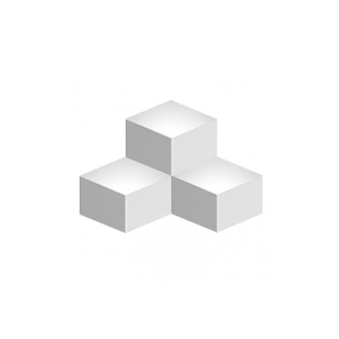 Настенный светильник копия Fold 4202 by Vibia (3 плафона, белый)