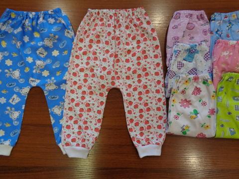 Ползунки-штаны цветные ( кулир)