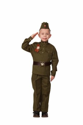 Военная форма Солдат детский с орденом (хлопок)