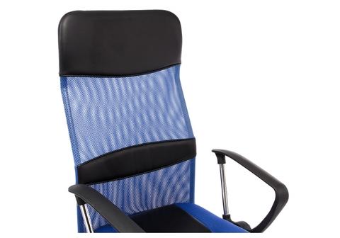 Офисное кресло для персонала и руководителя Компьютерное Arano синее 65*65*119