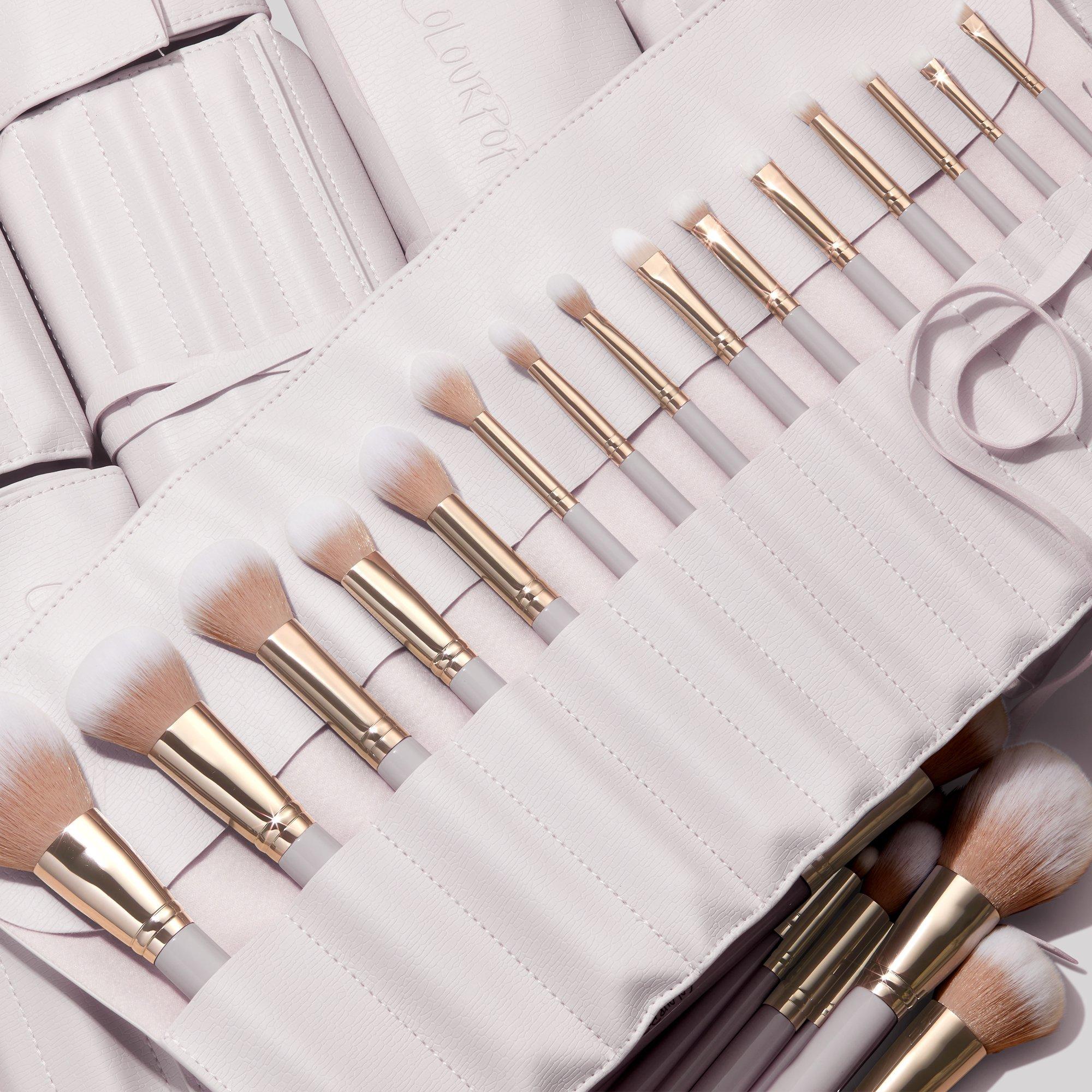 ColourPop Stone Cold makeup brush kit