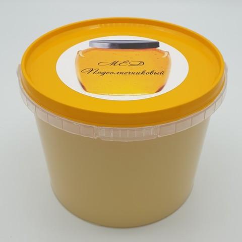 Подсолнечниковый мёд, 1 кг