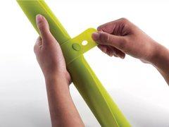 Коврик для теста силиконовый Joseph Joseph roll-up (зелёный)