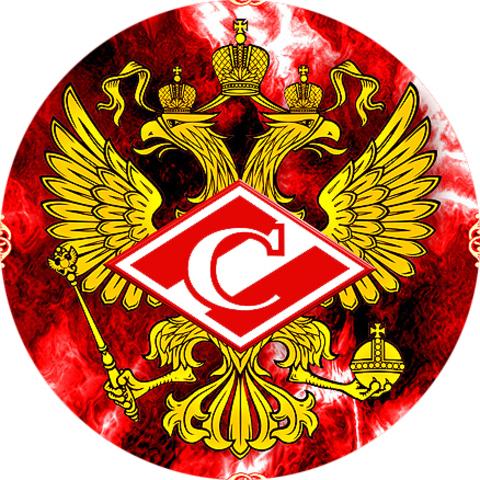 "Значок закатной ""Спартак (Москва)"" (3)"