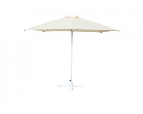 Зонт Митек 2.5х2.5 м с воланом (стальной каркас с подставкой, стойка 40мм, 8 спиц 20х10мм, тент OXF 300D) порошковая краска