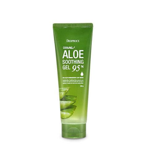Deoproce Cooling Aloe Soothing Gel многофункциональный гель алое 95%