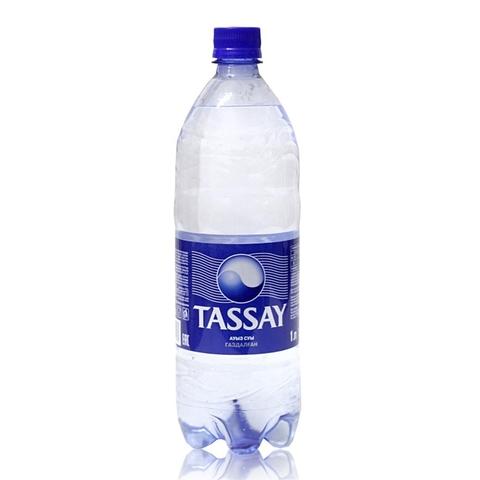 Вода питьевая TASSAY газ 1 л пл/б КАЗАХСТАН