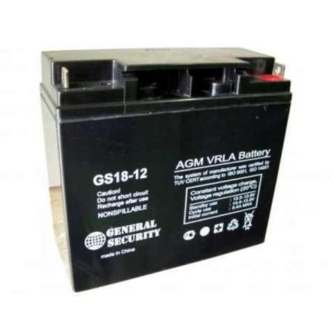 Аккумулятор GS  18 А/ч 12 В