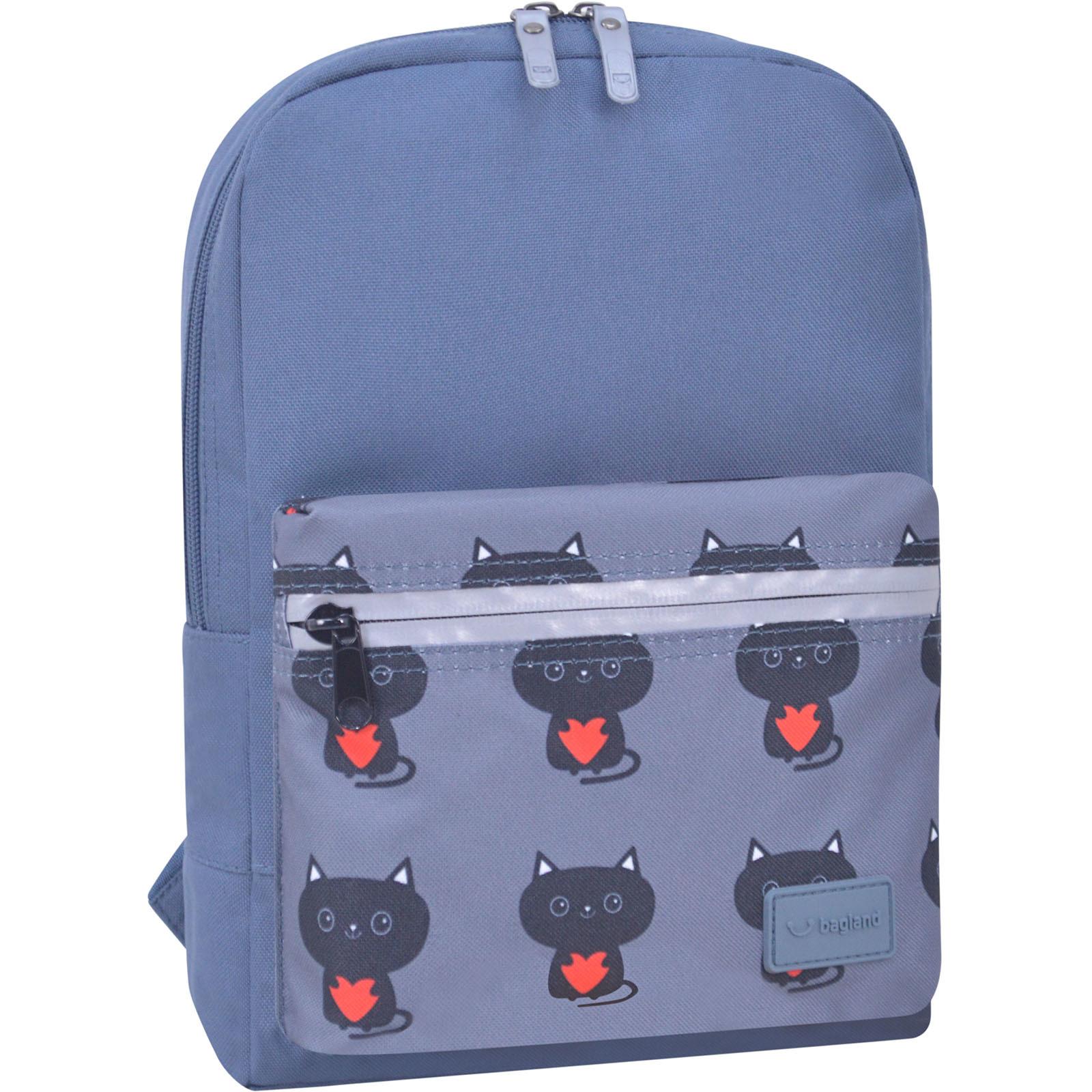 Детские рюкзаки Рюкзак Bagland Молодежный mini 8 л. серый 750 (0050866) DSC_1158_суб750_-1600.jpg