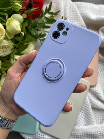 Чехол iPhone 11 Pro Silicone Full Camera Ring /glycine/