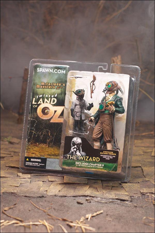 Страна ОЗ фигурки Волшебник и ученый — Twisted Land of OZ Wizard with Scientist figure
