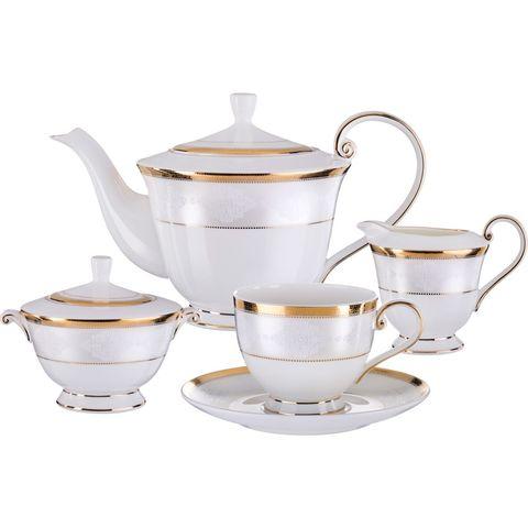 Чайный сервиз на 6 персон из фарфора 264-767