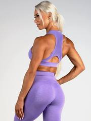 Женский топ Ryderwear Seamless Sports Bra - Purple Marle