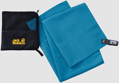 Полотенце быстросохнущее Jack Wolfskin Great Barrier Towel M turquoise