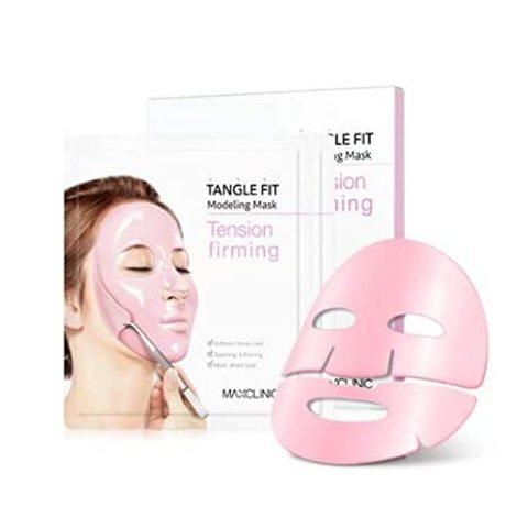 Альгинатная маска для упругости кожи Maxclinic Tangle  fit modeling mask-tension firming