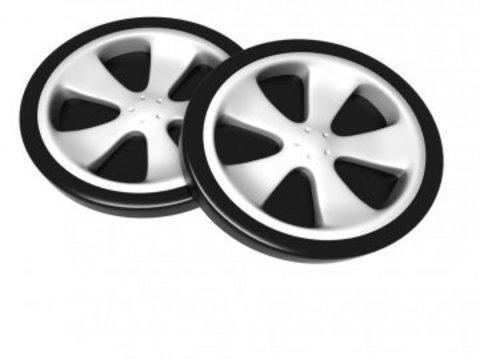 Накладные пластиковые колеса