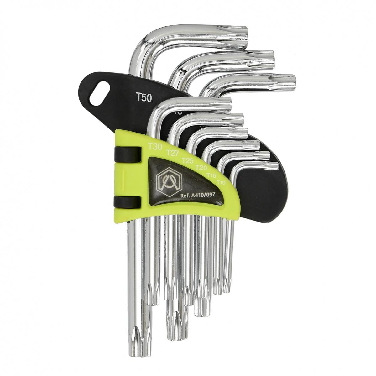 Набор ключей Torx A410/097, короткие