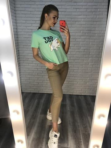 футболки женские