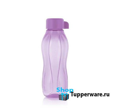 Бутылка Эко мини 310 мл в сиреневом цвете