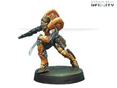 Xi Zhuang (вооружен Combi Rifle + Light Flamethrower)