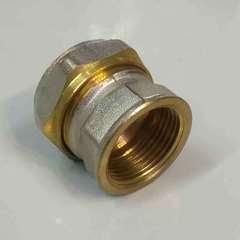 муфта обжимная для металлопластиковых труб 26