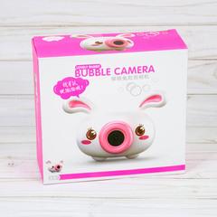 Генератор мыльных пузырей Зайчик Bubble Camera