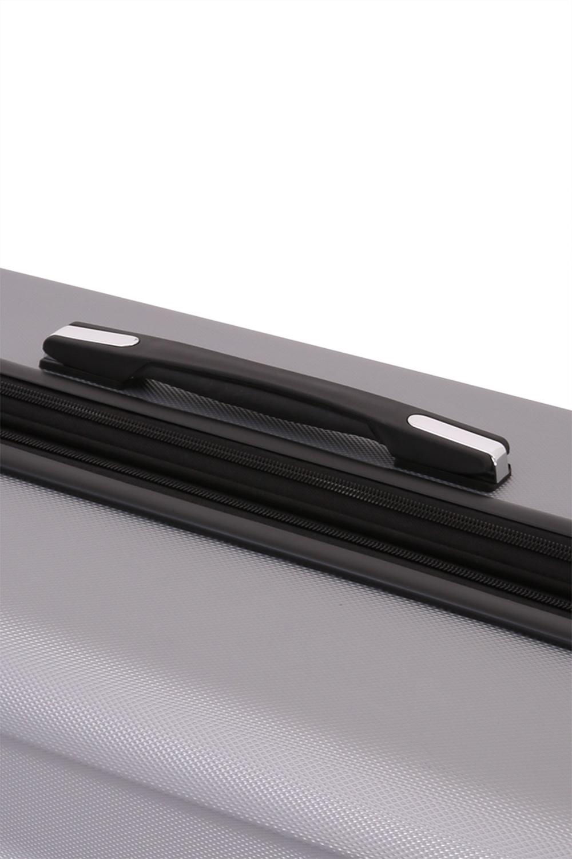 Чемодан WENGER ZURICH III, цвет серебристый 35,5x23x56 см, 34 л. (6573404154).