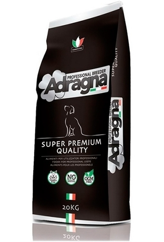 Корм Адрагна для взрослых собак, с Ягнёнком Adragna (20 кг) Breeder Functional Superpremium Adult All Size Lamb and rice (20 кг)