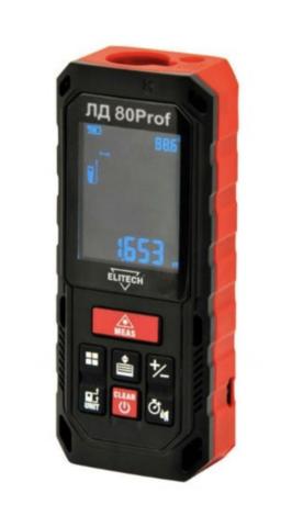 Дальномер лазерный ELITECH ЛД 80Prof