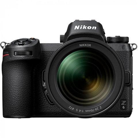 Фотоаппарат Nikon Z6 Kit 24-70/4 S