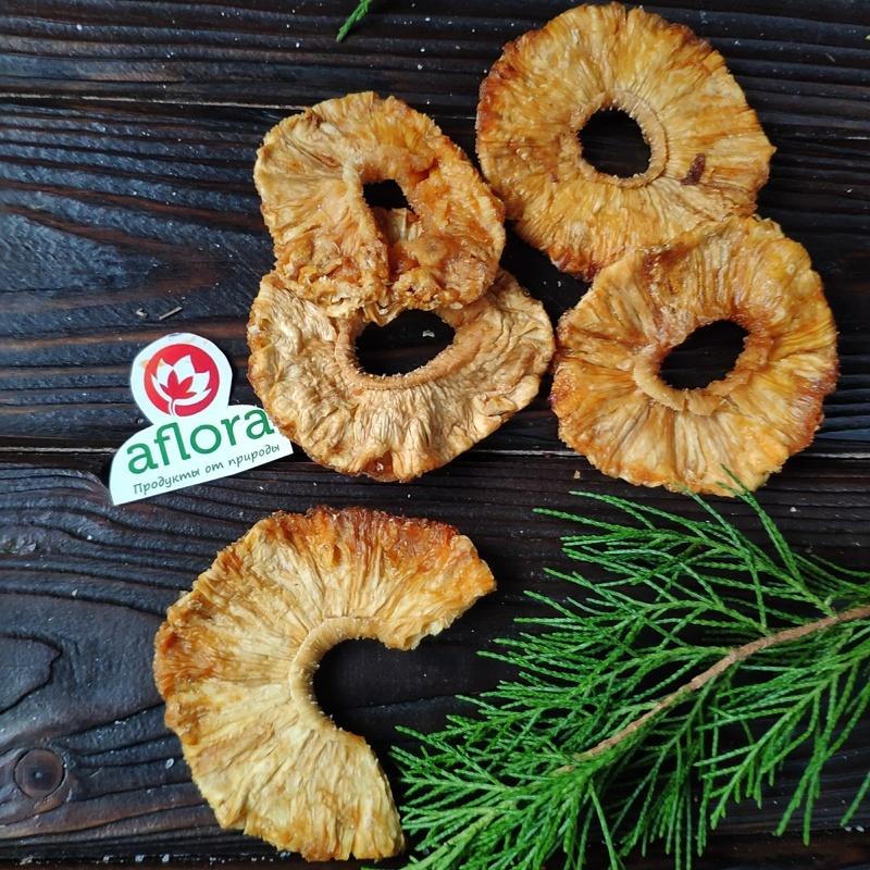Фотография Чипсы фруктовые Ананас, 250 г купить в магазине Афлора